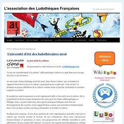 """L'association des Ludothèques Françaises - """"Le réseau au coeur des enjeux""""L'association des Ludothèques Françaises"""