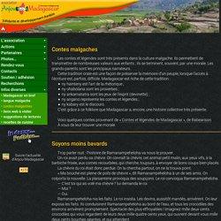 Contes malgaches proposés par l'association Anjou-Madagascar