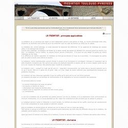 Association Médiation Toulouse-Pyrénées : principes - domaine
