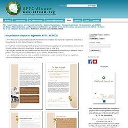 AFTC Alsace - Association des Familles de Traumatisés Crâniens d'Alsace - Modélisation dispositif logement AFTC ALSACE