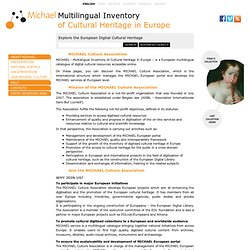MICHAEL Culture Association - Multilingual Inventory