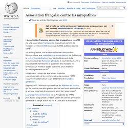 Association française contre les myopathies