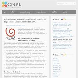 Mise au point sur les chartes de l'Association Nationale des Sages-Femmes Libérales, membre de la CNPL.