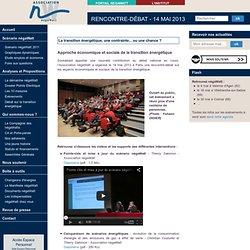 Rencontre-débat - 14 mai 2013