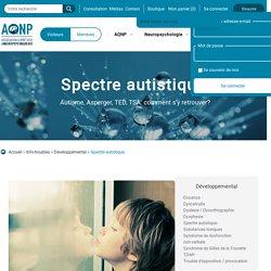 Spectre autistique - Association québécoise des neuropsychologues