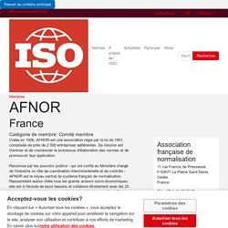 AFNOR - Association française de normalisation