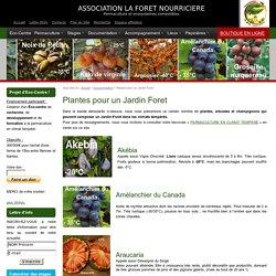 Plantes pour un Jardin Foret - Association La Forêt Nourricière, Franck Nathié