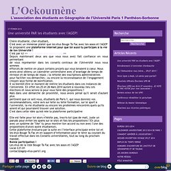 Association Oekoumène