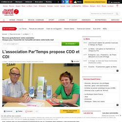 L'association Par'Temps propose CDD et CDI