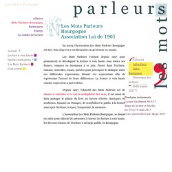 Association Les Mots Parleurs Bourgogne