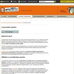L'association sportive, régles de gestion et particularités