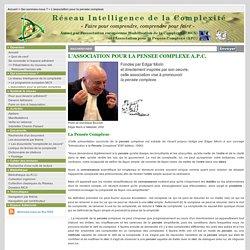 L'association pour la pensée complexe: MCX-APC