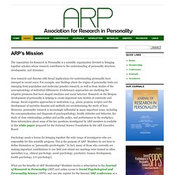 Association for Research in Personality