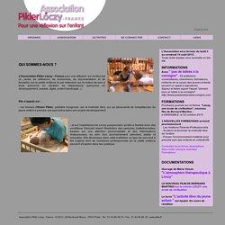 Association Pikler Lóczy - France, pour une réflexion sur l'enfant