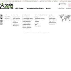 Association Planète Urgence / L'association / Qui sommes-nous ?
