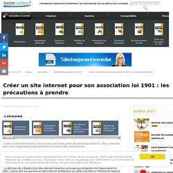 Créer un site internet pour son association loi 1901 : les précautions à prendre