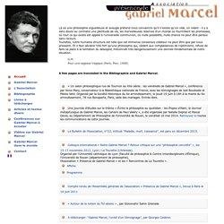 Association Présence de Gabriel Marcel