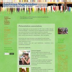 Le blog de l'association Lectures Vagabondes, Lille: Présentation association