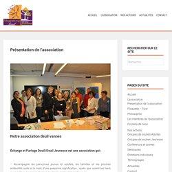 Association deuil Vannes - Présentation d'Echange et Partage deuil