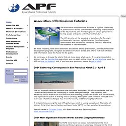 Association of Professional Futurists