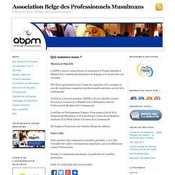 Association Belge des Professionnels Musulmans