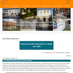 Association La Clede - Son projet associatif
