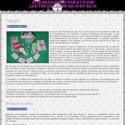 Association prostitution Griselidis Toulouse - Prévention et réduction des risques (RDR)