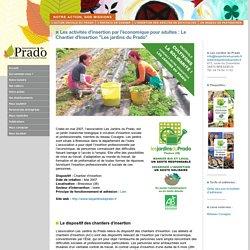 ASSOCIATION PRADO RHONE-ALPES - FONDATION DU PRADO : Protection de l'enfance - Aide à l'enfance en difficulté : Mission - Insertion - Les Jardins du Prado