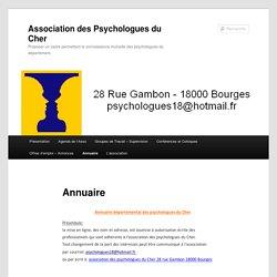 Association des Psychologues du Cher