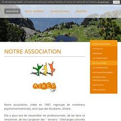 Notre association - AIREP38 - Association Iséroise de Réflexions et d'Echanges en Psychomotricité
