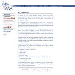 APTA - Association de Psychothérapeutes pour le Traitement des Addictions