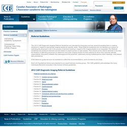 Canadian Association of Radiologists