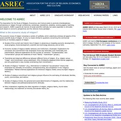The Association for Religion, Economics and Culture (ASREC)