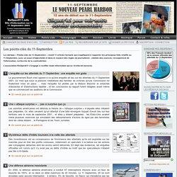 Les points-clés du 11-Septembre - 11 Septembre : Association loi 1901 pour la réouverture de l'enquête. - 11 Septembre - ReOpen911