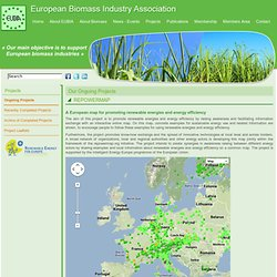 European Biomass Industry Association - REPOWERMAP