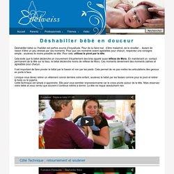 Association Edelweiss - Deshabiller bébé en douceur : du retournement au soulever