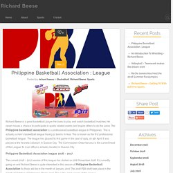 Philippine Basketball Association : League - richardbeesesports.com