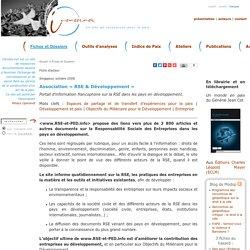 Association «RSE & Développement»