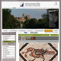 Association des Villes à Secteur Sauvegardé Languedoc-Roussillon > Narbonne > Secteur Sauvegardé > Mosaïque musée archéo narbonne