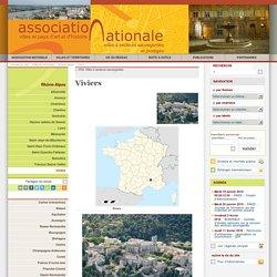 Viviers - Association Nationale des Villes et Pays d'art et d'histoire et des Villes à Secteur Sauvegardé et Protégé