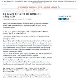Le suaire de Turin médiatisé et démystifié - Afis Science - Association française pour l'information scientifique