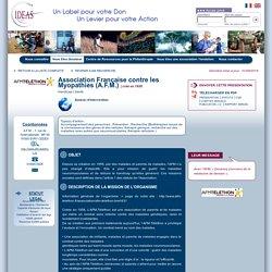 Association Française contre les Myopathies (A.F.M.) : Pour donner sereinement, il faut être informé et avoir confiance