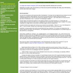 Association SITCOM - Langue des Signes Française