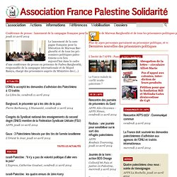 [http://www.france-palestine.org - Association France Palestine