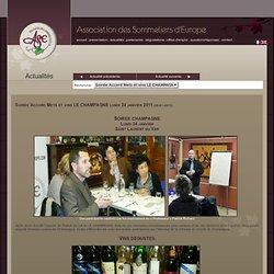 Association des Sommeliers d'Europe - formation sommellerie - faire connaître l'oénologie
