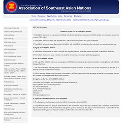 ASEANWEB - Accession to the Treaty of Amity and Cooperation in Southeast Asia by China