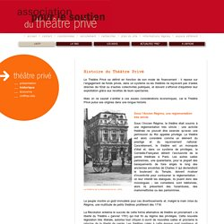 ASTP - Association pour le Soutien du Théatre Privé