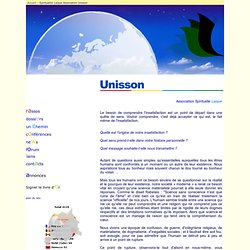Unisson - Bienvenue