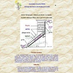Association française FEEDA, principes du stérilisateur solaire SOLOG