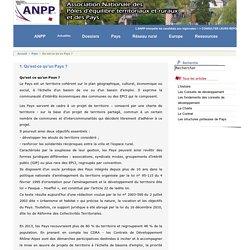 [ANPP Association Nationale des Pôles territoriaux et des Pays]Tous